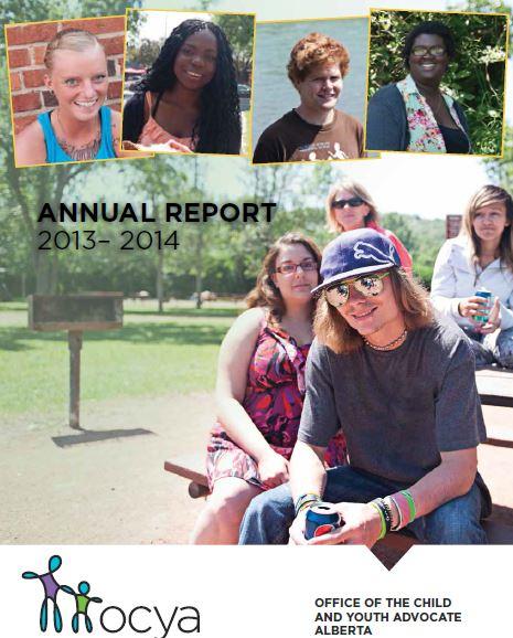 OCYA Annual Report 2013-2014