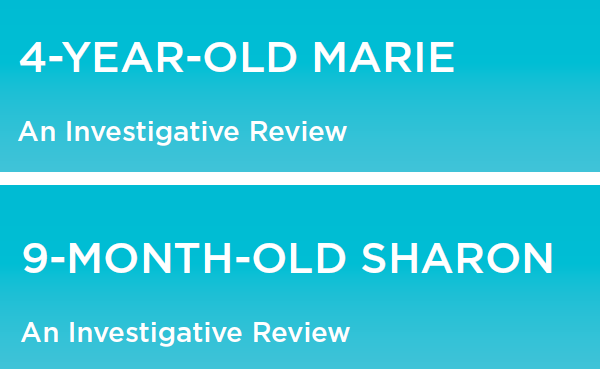 Investigative Reviews: Sharon and Marie