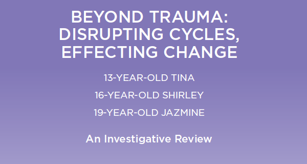 Beyond Trauma - Tina, Shirley and Jazmine