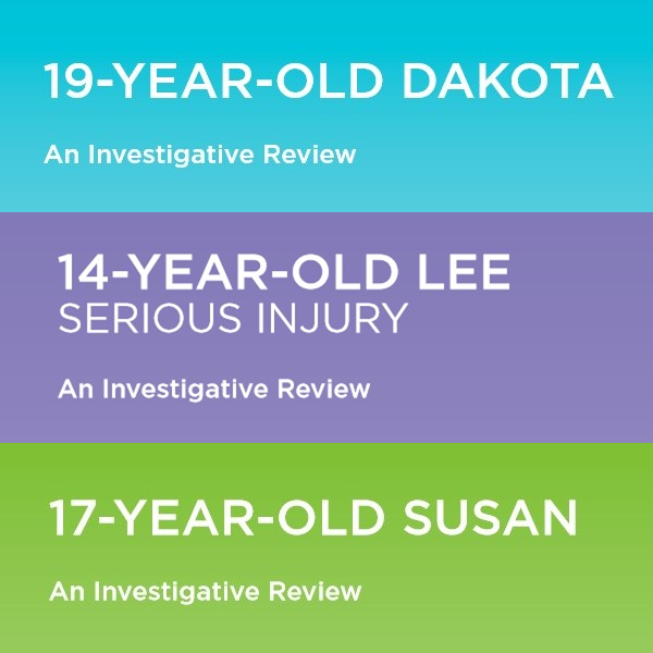Investigative Reviews: Dakota, Lee and Susan